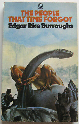 THE PEOPLE THAT TIME FORGOT by EDGAR RICE BURROUGHS Vintage PB Book