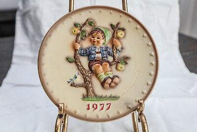 M.I. Hummel Plate Collection-Hand Painted 1977