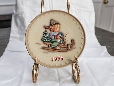 M.I. Hummel Plate Collection-Hand Painted 1975