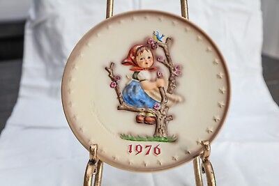 M.I. Hummel Plate Collection-Hand Painted 1976
