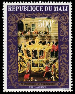 MALI C341 (Mi663) - Coronation of Queen Elizabeth II 25th Anniversary (pa79910)