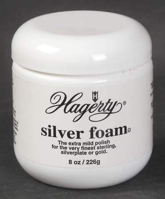Hagerty SILVER CARE 8 Oz. Silver Foam Mild Polish Just Apply And Rinse 10926498