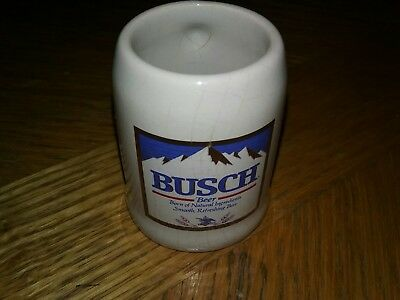Vintage Busch Mini Beer Mug From Chilli