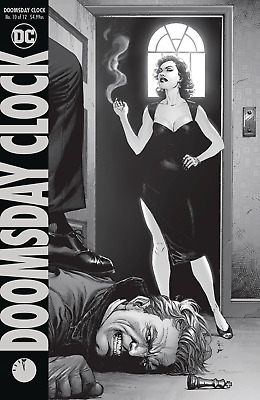 DOOMSDAY CLOCK #10 (OF 12) Cover A  - 4/17/19