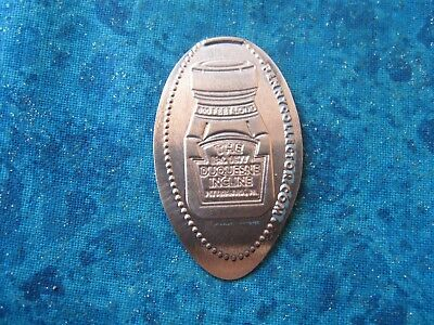 THE DUQUESNE INCLINE PITTSBURGH PA Elongated Penny Pressed Smashed 11