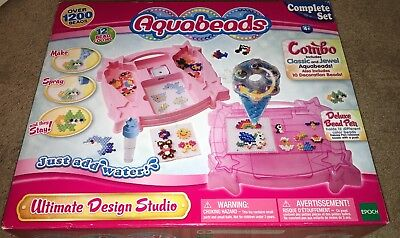 Aquabeads Ultimate Design Studio Set 1999 Picclick