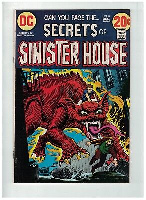 SECRETS OF SINISTER HOUSE 8 FINE Dec. 1972