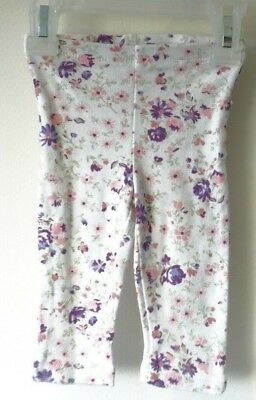 Lot Of Two Laura Ashley Baby & Carter's Leggings Girl's Size 6-9 Month & 9 Month