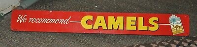 Vintage Collectible Camel Cigarettes Country Store Coutertop Display Sign No 855