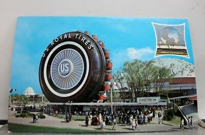 New York NY US Rubber Worlds Fair Postcard Old Vintage Card View Standard Post