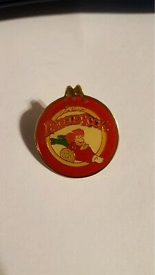 McDonald's crew lapel pin Fraggle Rock 1987 used looks great