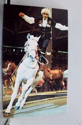Ad Ringling Brothers Barnum and Bailey Postcard Old Vintage Card View Standard