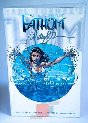 Fathom Vol 1 Paperback Signed by Michael Turner