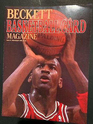 Beckett Basketball Magazine # 1  Michael Jordan Cover
