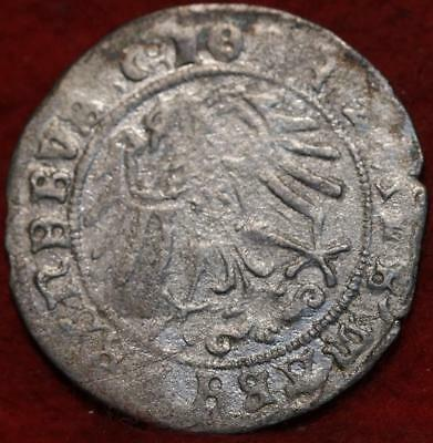 1513 German States Brandenburg 1 Groschen Silver Foreign Coin