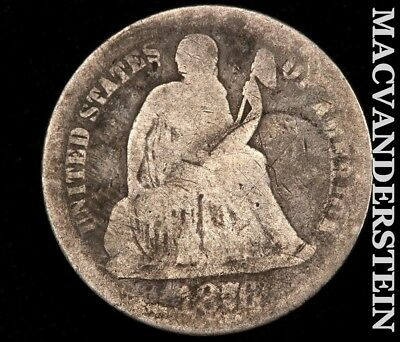 1876 Seated Liberty Dime-Scarce Better Date!! #c6812