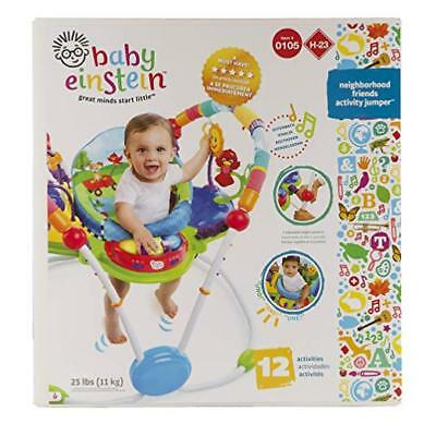 Baby Einstein Activity Jumper Special Edition Neighborhood Friends with toys