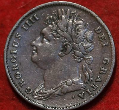 1825 Great Britain One Penny Foreign Coin