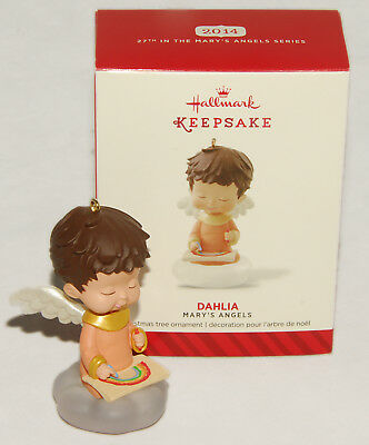 HALLMARK - MARY'S ANGELS - DAHLIA - #27 Collector Series - 2014 *NEW in BOX!