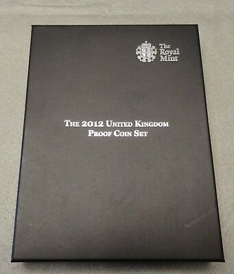 2012 United Kingdom-Great Britain Proof Coin Set
