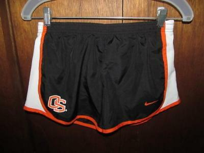 Nike Dri-Fit Oregon State Athletic/Running Shorts Girl's Sz L (12/14) GC