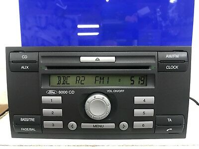 Ford Fiesta Focus Transit 2004-2009 Car Radio Stereo Cd Player Kw2000 With Code