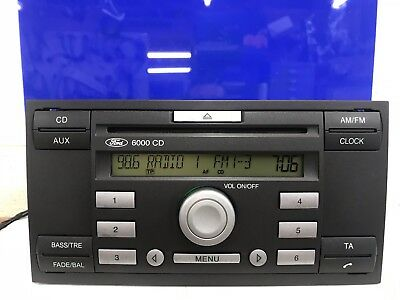 Ford Fiesta Focus Transit 2004-2009 Car Radio Stereo Cd Player With Code