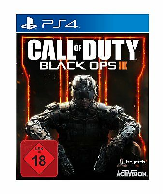 PS4 - CALL OF DUTY - Black Ops III (3) - PLAYSTATION 4 - USK 18