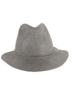 70f19368610d1 Woolrich FEDORA HAT 100% Wool felt crushable packable water repellent