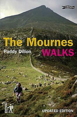 Mournes Walks by Paddy Dillon (English) Paperback Book Free Shipping!