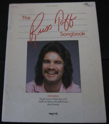 Russ Taff Songbook - 1983 Myrrh Word - 12 Songs Song Book Christian