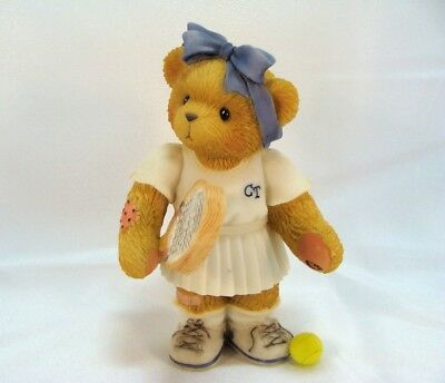 Cherished Teddies  ~  ROBERTA ... Playing Tennis  *  NEW From Our Shop