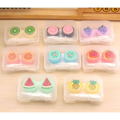 Contact Lens Box Creative Travel Portable Case Care Eyes Storage Kit Container