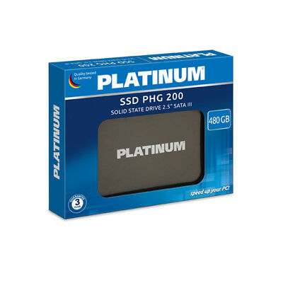 Platinum SSD PHG 200 480GB 512GB SATA III SSD for Macbook / Laptop - Very fast!