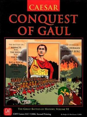 GMT GBoH Wargame Caesar - Conquest of Gaul (2nd Printing) Box NM-