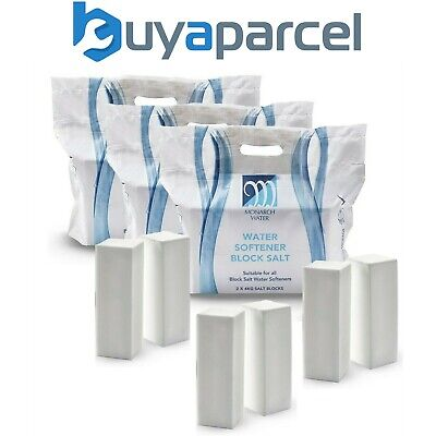 Monarch Ultimate Water Softener Block Salt 8kg Bag - 6 x 4kg Blocks