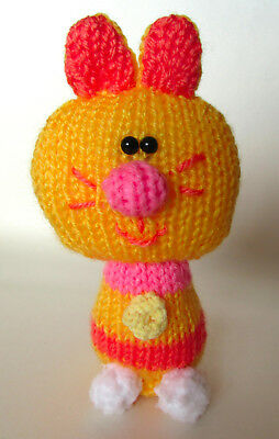 Enid The Cat Toy **knitting Pattern Only** Hey Duggee Cbeebies