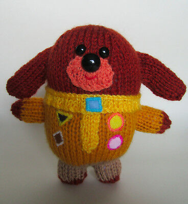 Hey Duggee Toy **knitting Pattern Only** Cbeebies
