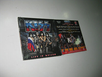 Kiss 2 Cd Live In Moscow 01/05/2017 Sealed