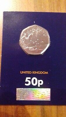 2018 UK The Snowman CERTIFIED BU 50p