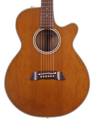 Takamine EF261S Electro Acoustic Guitar, Antique Natural (Pre-Owned)