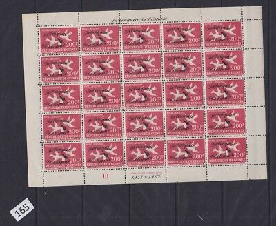 !! Guinea - Mnh - Birds, Space - Overprint