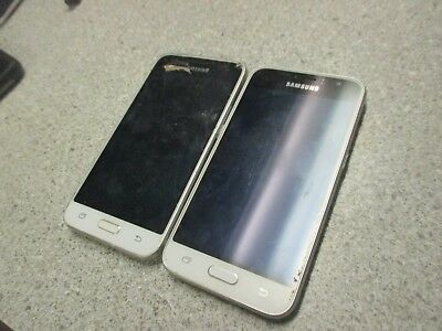 lot 2 Galaxy Exrpess 3 Samsung cell phones  as is parts repair unknown untested