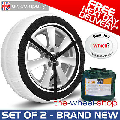 Silknet 80 Car Snow Socks 235//55 R17 Free Delivery 235 55 17 Tyre