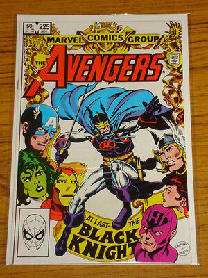 Avengers #225 Vol1 Marvel Black Knight Returns Scarce November 1982