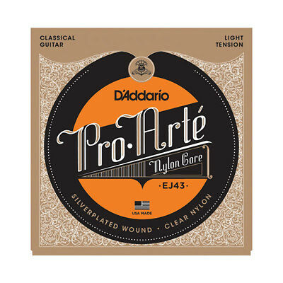 D'Addario EJ43 Pro-Arte Nylon Acoustic Guitar Strings, Light Tension