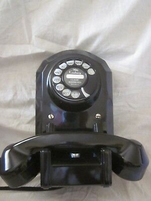 Automatic Electric Wall Bakelite Telephone Model 50.
