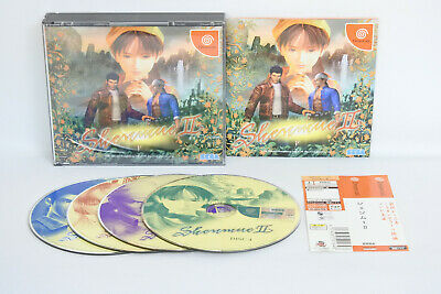 Dreamcast SHENMUE II 2 with Spine Card Sega Japan Game dc