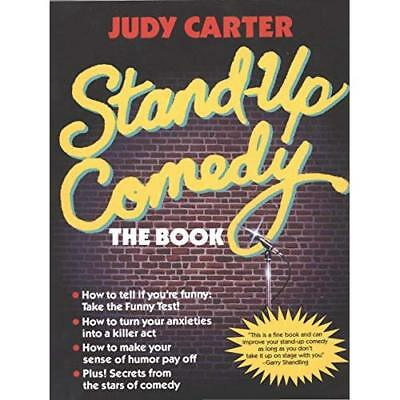 Stand-Up Comedy: The Book - Paperback NEW Carter, Judy 1990-01-01