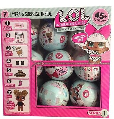 LOL Surprise Series 1 Doll Ball Original Diva Balls L.O.L. OutOfStock Dolls HTF